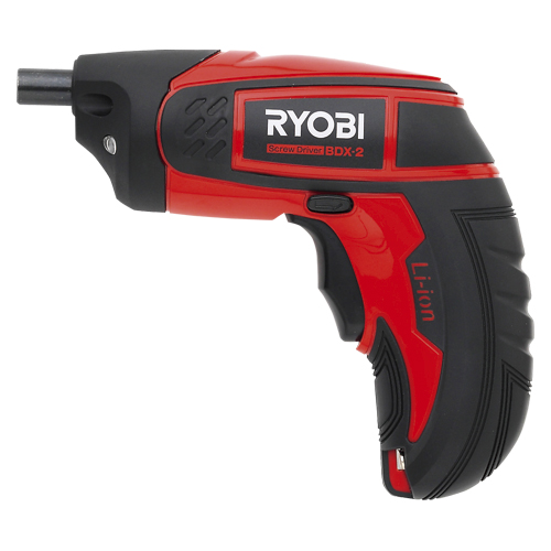 リョービ リョービ 充電スクリュードライバー BDX-2(赤/黒)