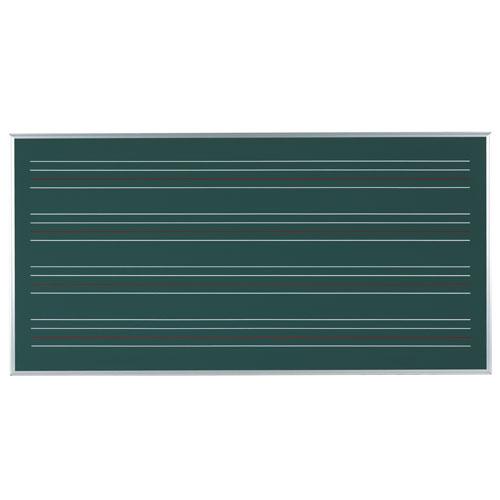 代引不可送料無料  代引不可 馬印 メーカー直送品 スチールグリーン ローマ字黒板