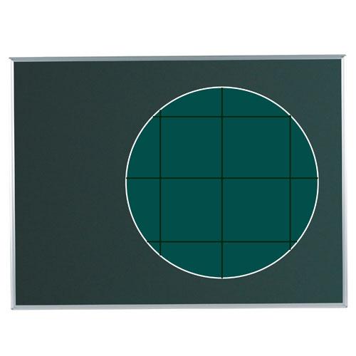 代引不可送料無料  代引不可 馬印 メーカー直送品 マジシリーズ 壁掛 スチール 暗線入黒板