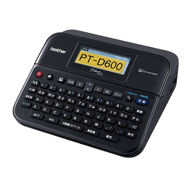 ブラザー ラミネートラベルライター ピータッチPT-D600(ブラック)