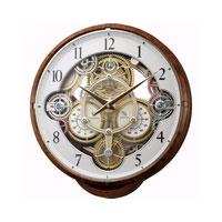 全商品ポイント5倍Day開催 14日0時~23時59分/リズム時計 スモールワールドシーカー(木目)
