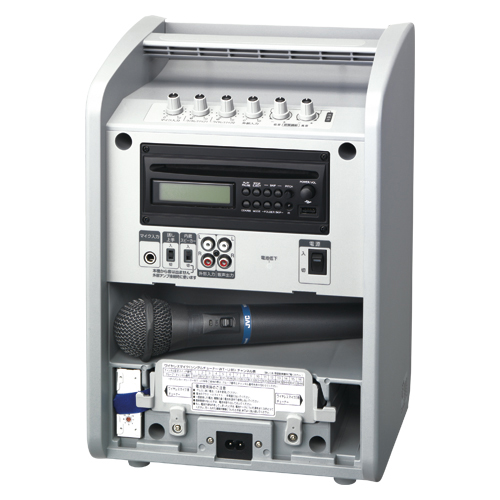 JVCケンウッド シングル方式・ポータブルワイヤレスアンプ(800MHz)