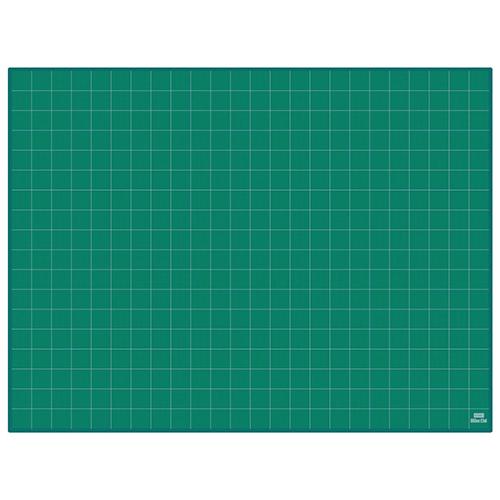 全商品ポイント3倍WEEK 3日0時より/ウチダ カッティングマット 普及タイプ 3×4 5cm方眼 1200X900X3mm(グリーン)