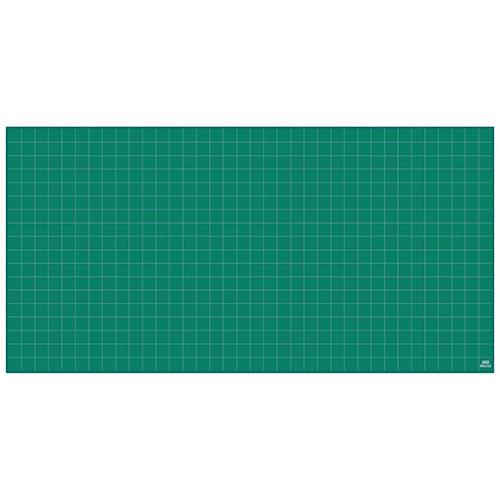 全商品ポイント3倍WEEK 3日0時より/代引不可 ウチダ 法人限定品 カッティングマット 普及タイプ 3×6 5cm方眼 1800X900X3mm(グリーン)