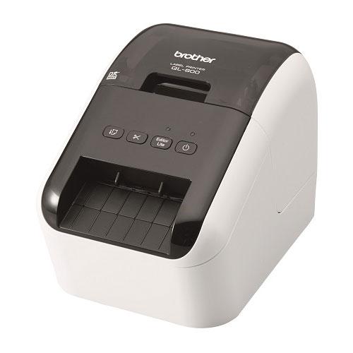 全商品ポイント3倍23日16時59分まで/ブラザー 感熱ラベルプリンター QL-800(ホワイト&ブラック)