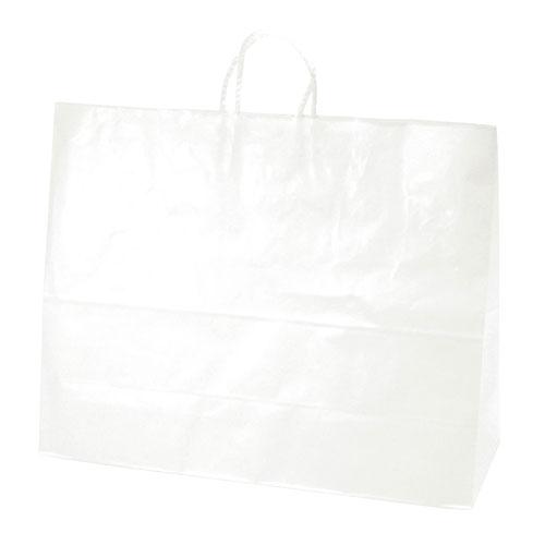 全商品ポイント3倍WEEK 16日0時より/ササガワ 手提げバッグ 白無地 超特大横長 50枚袋入り