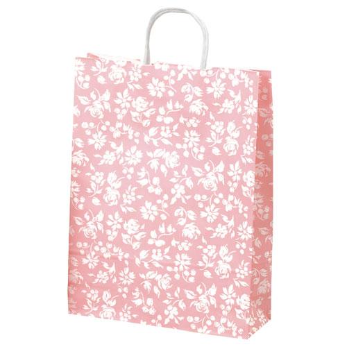 ¥6,000以上送料無料  全商品ポイント3倍開催中/ササガワ 手提げバッグ カレン 大 ピンク 10枚袋入り