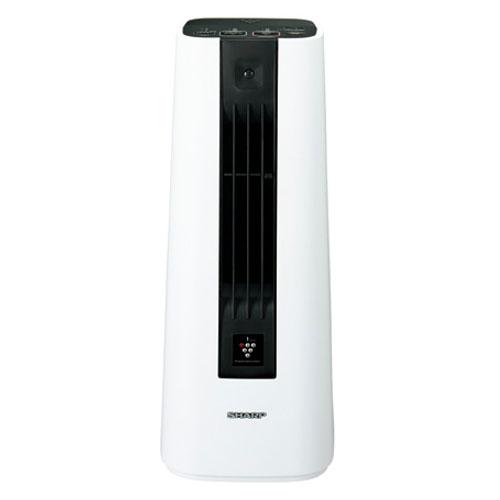 代引不可 シャープ セラミックファンヒーター HX-HS1-W(ホワイト)