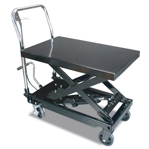 代引不可 レックス 法人限定 リフトテーブル270kg【TP03001】 ST-33985