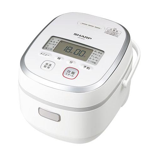 代引不可 シャープ IHジャー炊飯器 5.5合炊き KS-HA10-W(ホワイト系)