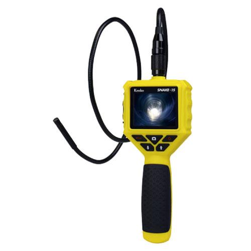 代引不可 レックス LEDライト付き防水スネイクカメラ【SE-15】 ST-33223