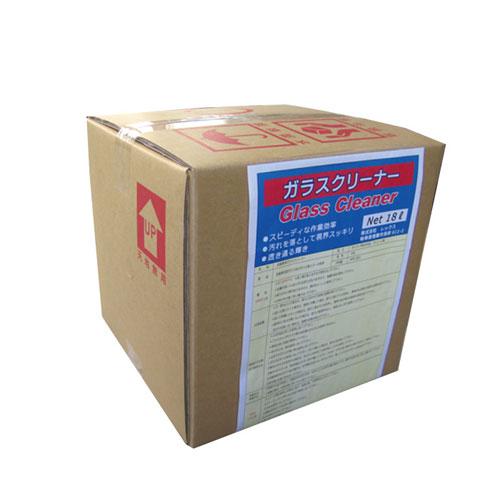 代引不可 レックス 法人限定 ガラス・クリーナー 18L【GC34718】 ST-29979