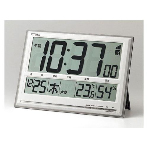 全商品ポイント5倍Day開催 27日0時~23時59分/シチズン 掛・置兼用時計 電波時計 8RZ199-019