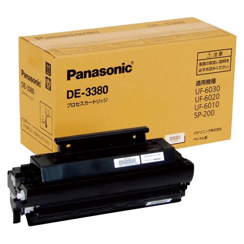 パナソニック DE-3380 プロセスカートリッジ(ブラック)