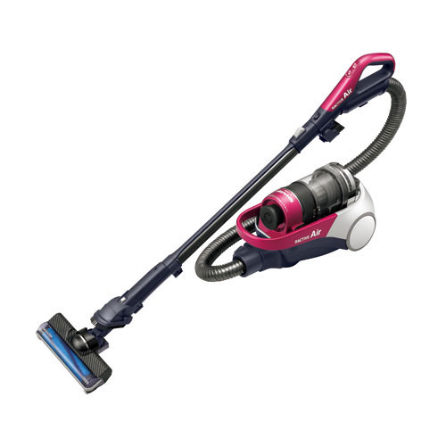 代引不可 シャープ コードレスキャニスターサイクロン掃除機 EC-AS510-P(ピンク系)
