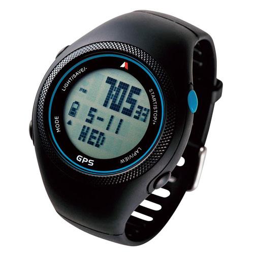 全商品ポイント3倍WEEK 開催中/Running GPS Watch【130Y5A】(ブルー)