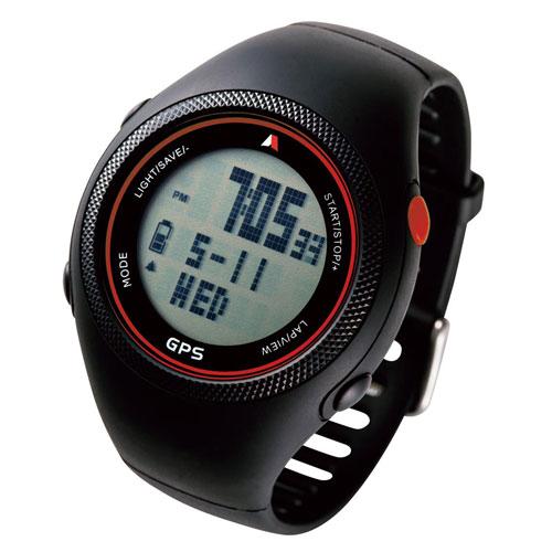 全商品ポイント3倍WEEK 開催中/Running GPS Watch【130Y5B】(レッド)