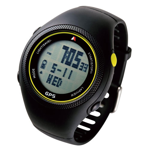 全商品ポイント3倍WEEK 開催中/Running GPS Watch【130Y5E】(ライム)