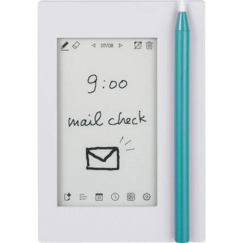 全商品ポイント3倍20日23時59分まで/キングジム 気づかせメモ カクミル 電子ペーパーディスプレイ採用 EM10シロ(ストーングレー)