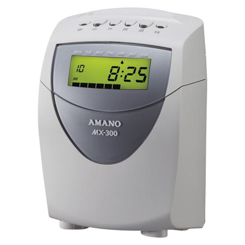 アマノ 電子タイムレコーダー 印字色:黒1色(ホワイト)