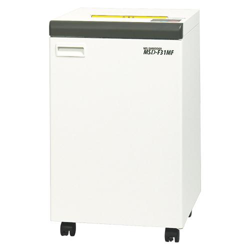 代引不可 明光商会 MSシュレッダー MSD-F31MF ワンカットクロス 対応サイズ:A3 容量:76L(ホワイト)