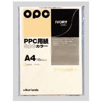 全商品ポイント3倍セール開催中/文運堂 ファインカラーPPC A4判 (アイボリー)