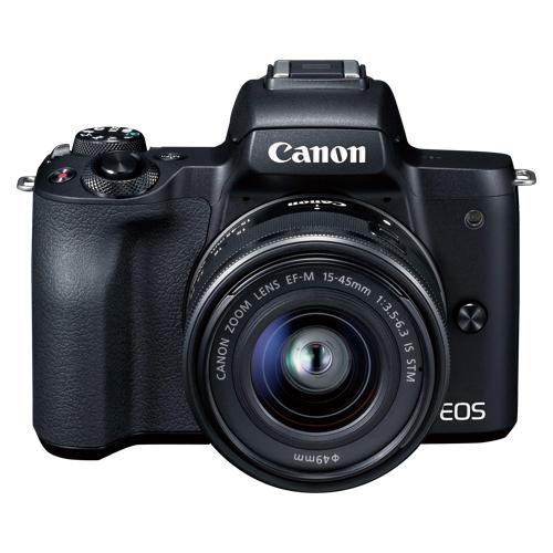 全商品ポイント3倍16日23時59分まで/キヤノン ミラーレスカメラEOSKissM EOSKISSMBK-1545ISSTMLK(ブラック)