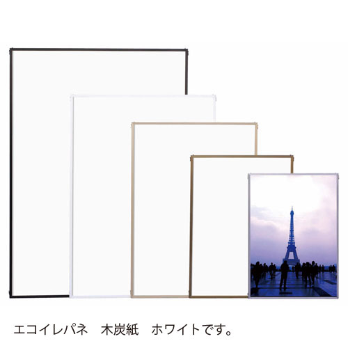 ¥6 期間限定送料無料 000以上送料無料 全商品ポイント3倍4日0時より 誕生日プレゼント アルテ ホワイト エコイレパネ 木炭紙