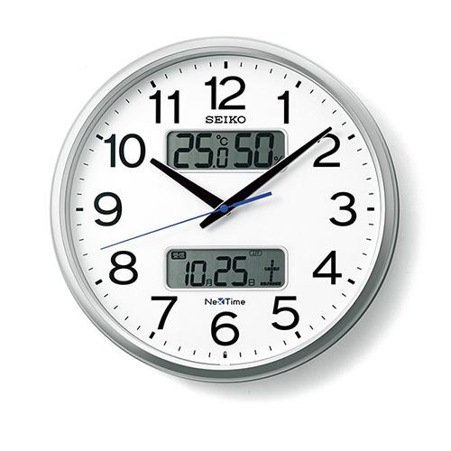 全商品ポイント3倍開催中/セイコー NexTime 電波掛時計