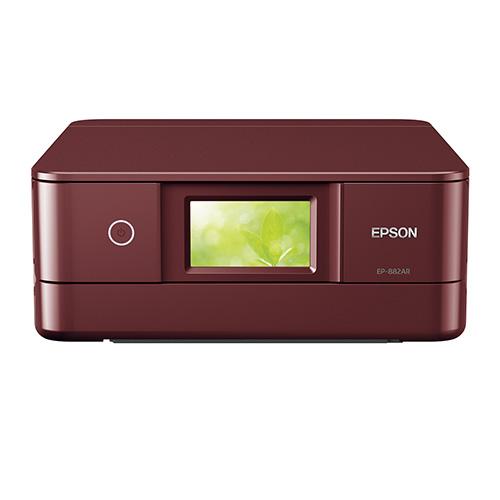 GW企画 全商品ポイント3倍開催中/エプソン Colorioプリンター EP-882AR(レッド)