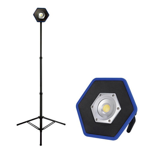 代引不可 レックス 法人限定 シングルスタンド&コードレスLED投光器セット【TD01-WL4020】