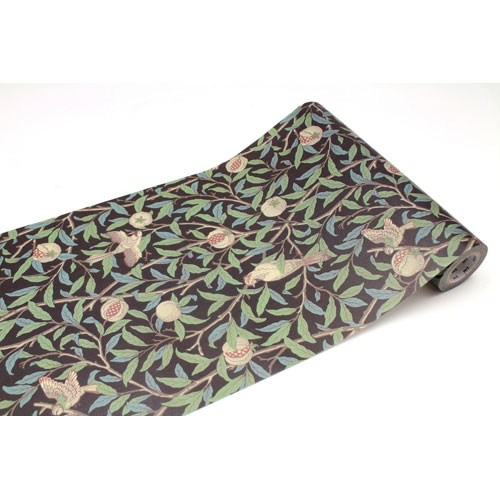 ¥6,000以上送料無料  全商品ポイント3倍20日1時59分まで/ カモ井加工紙 mt CASA FLEECE Morris & Co. Bird Pomegranate マステ マスキングテープ