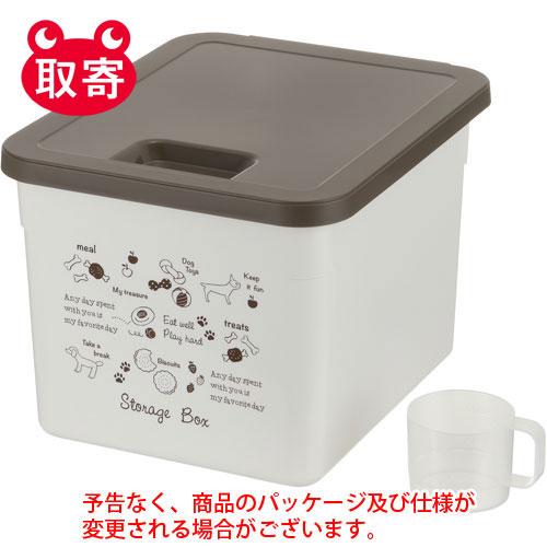 ¥6 000以上送料無料 リッチェル ドッグフードストレージボックス 国内在庫 ◆セール特価品◆ ホワイト ペット用品