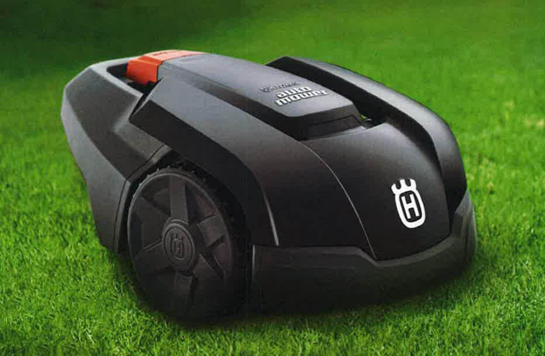 2020年最新モデル!ハスクバーナ ロボット芝刈り機(家庭用)大特価で激安!全自動芝刈り作業可能 105 芝刈り機、草刈機、草刈り機、不動産管理物件管理や果樹園下草刈り等、雑草刈にも最適。常時芝地や雑草地を綺麗な状態に保てます。