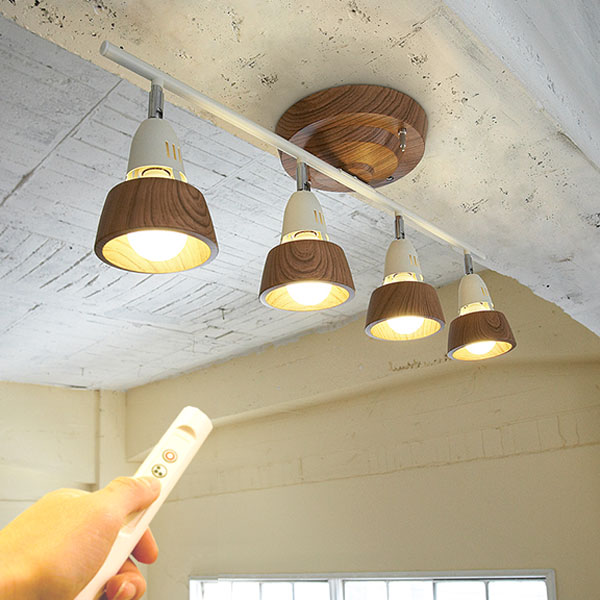シーリングスポットライト Harmony AW-0321Z シーリングライト スポットライト 天井照明 間接照明 照明 おしゃれ モダン ナチュラル 北欧 リビング用 居間用 ダイニング用 リモコン付 一人暮らし