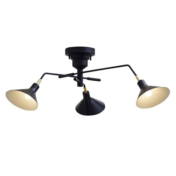 送料無料 シーリングライト RONNE (ロネ)LT-9518 照明器具 間接照明 天井照明 3灯 モダン リビング用 居間用 ダイニング用 食卓用 寝室 おしゃれ 北欧