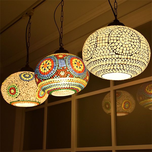 Pendant Light Demoza Ictp8168 Lighting Fixtures Ceiling Indirect Lamp Led Asian Glass Live Studio Mosaic