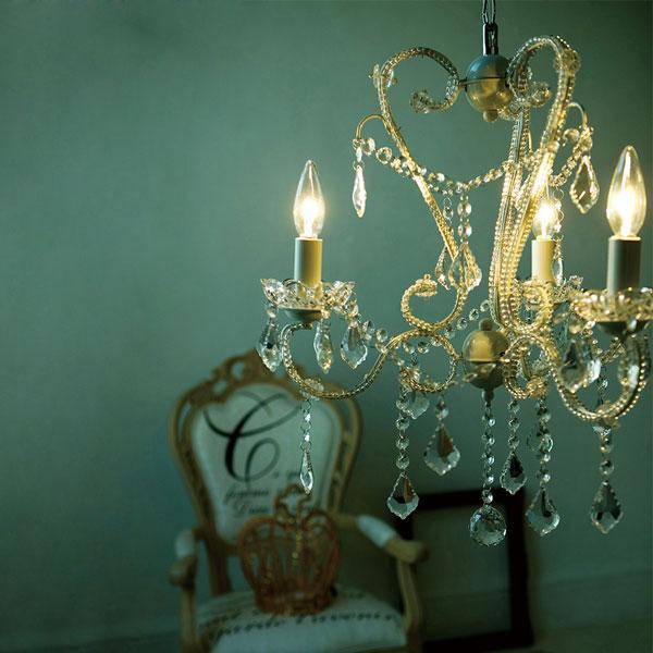 シャンデリア Eden3(エデン3) AW-0230 照明 おしゃれ アンティーク クラシック ヨーロッパ シャビー 天井照明 リビング用 居間用 ダイニング用 食卓用 寝室