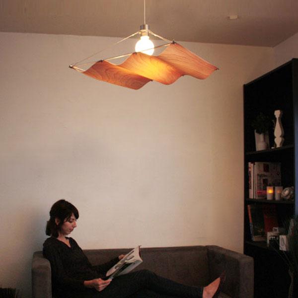 ペンダントライト ONDA-WOOD LP2758 北欧 リビング用 居間用 ダイニング用 食卓用 シンプル モダン 照明 おしゃれ ウッド ナチュラル 間接照明 インテリア照明 天井照明