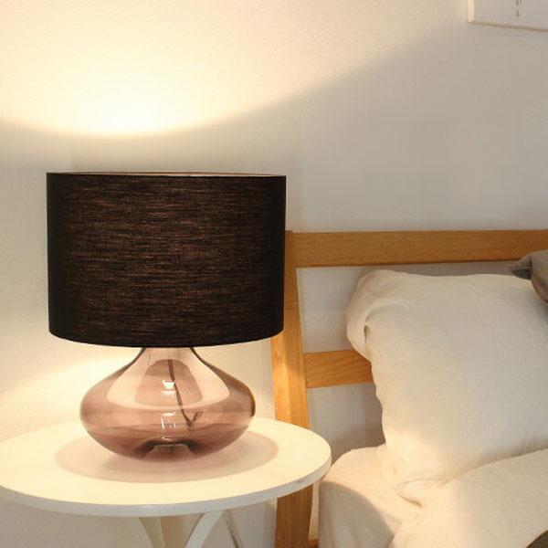 テーブルライト ACQUA(LT3100) 照明器具 間接照明 テーブルランプ おしゃれ 北欧 モダン シンプル ガラス モノトーン 寝室 ベッドサイド