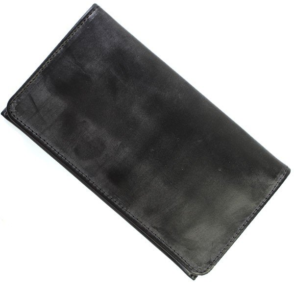 GLENROYAL グレンロイヤル 03-5568 BLACK NEW BLACK 長財布 小銭入れ付 メンズ