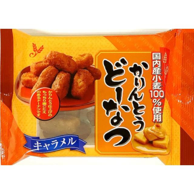 山田製菓/どーなつファーム/かりんとうどーなつ(キャラメル)/65g