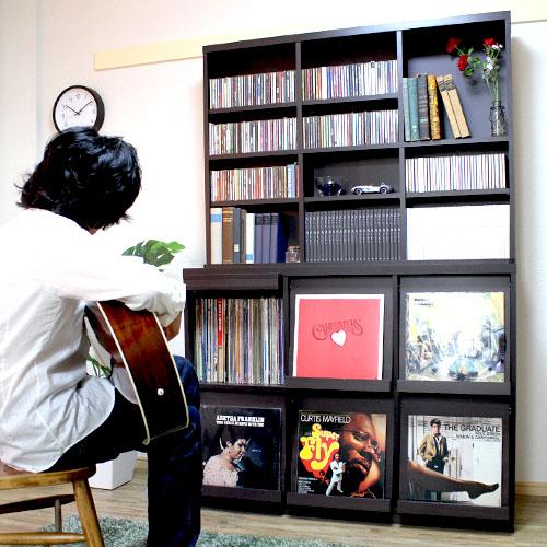 レコードラック レコード収納 フラップ扉 レコード コミック マンガ ラック 収納 棚 ディスプレイラック lp 収納ラック カタログ棚 マンガラック cd レコード DJブース レコード棚 収納棚 ターンテーブル 台 本棚
