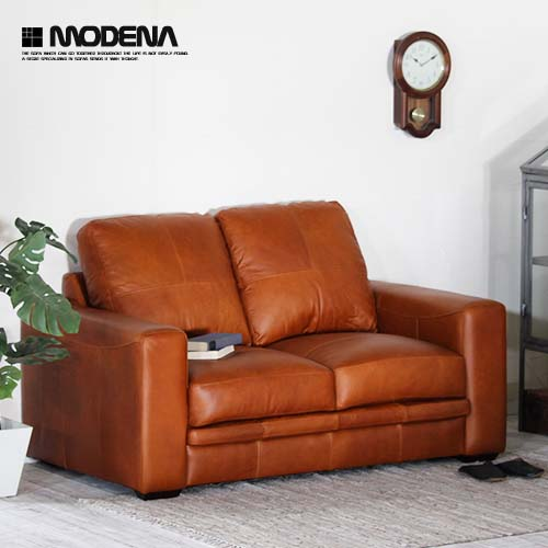 Open the package installation free leather sofa sofa two seat leather  leather couch oil leather sofa