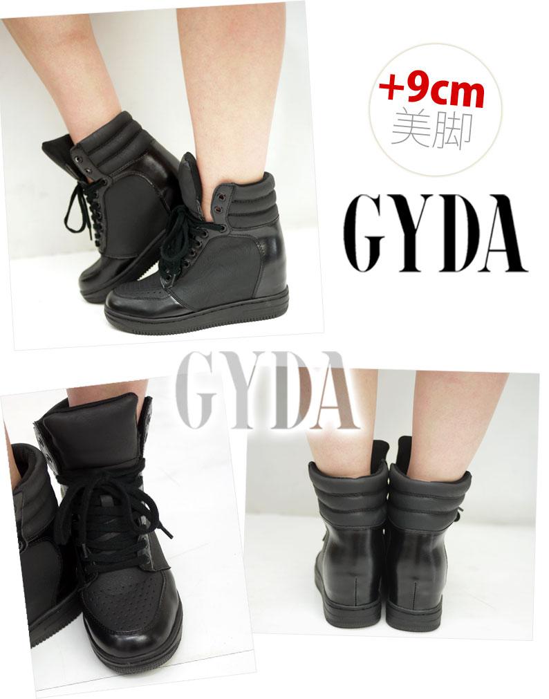 ジェイダ [GYDA] sneakers Lady's shoes sneakers in heel wedge sneakers ViVi publication! ユリア habitual use! (071311014301)(071331816301)