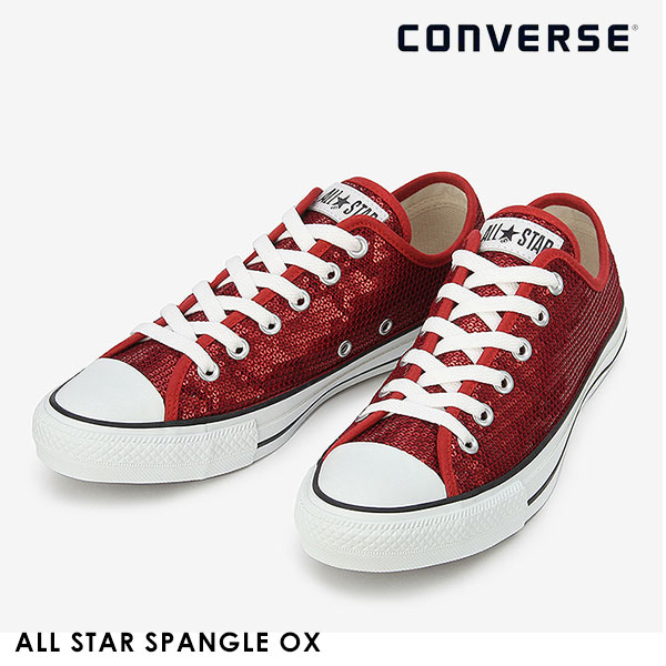 7548c38b6cf DOUBLEHEART: Converse CONVERSE mail order ALL STAR SPANGLE OX Lady's ...