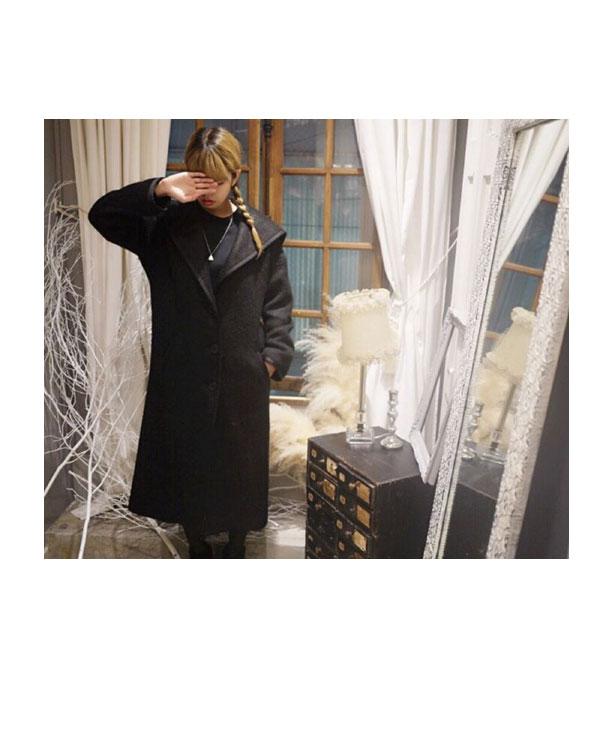 Hannymehoney 蜂蜜 mi 蜂蜜水手外套 (预订 11 / 中期) hannymehoney 店外套长大衣外套切斯特法院女士 (15A-TA-32)