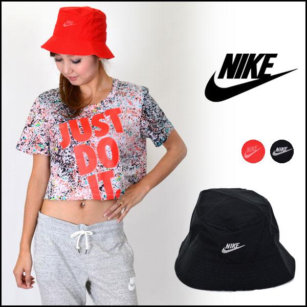 Nike (NIKE) women's future BA bucket Hat Hat bucket Hat sports brand logo  store (genuine)