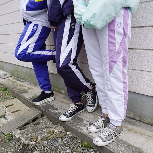 フィラ FILA 通販 JOGGER PANTS レディース ボトムス パンツ ジョガーパンツ スポーツ ジョギング ランニング ジム 配色 ロゴ ジャージ 撥水 はっ水 メッシュ fl3351