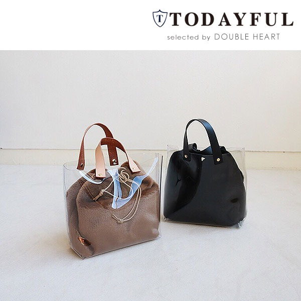 Todayful Today Full Life S Mail Order End Of August Reservation Fur X Clear Bag
